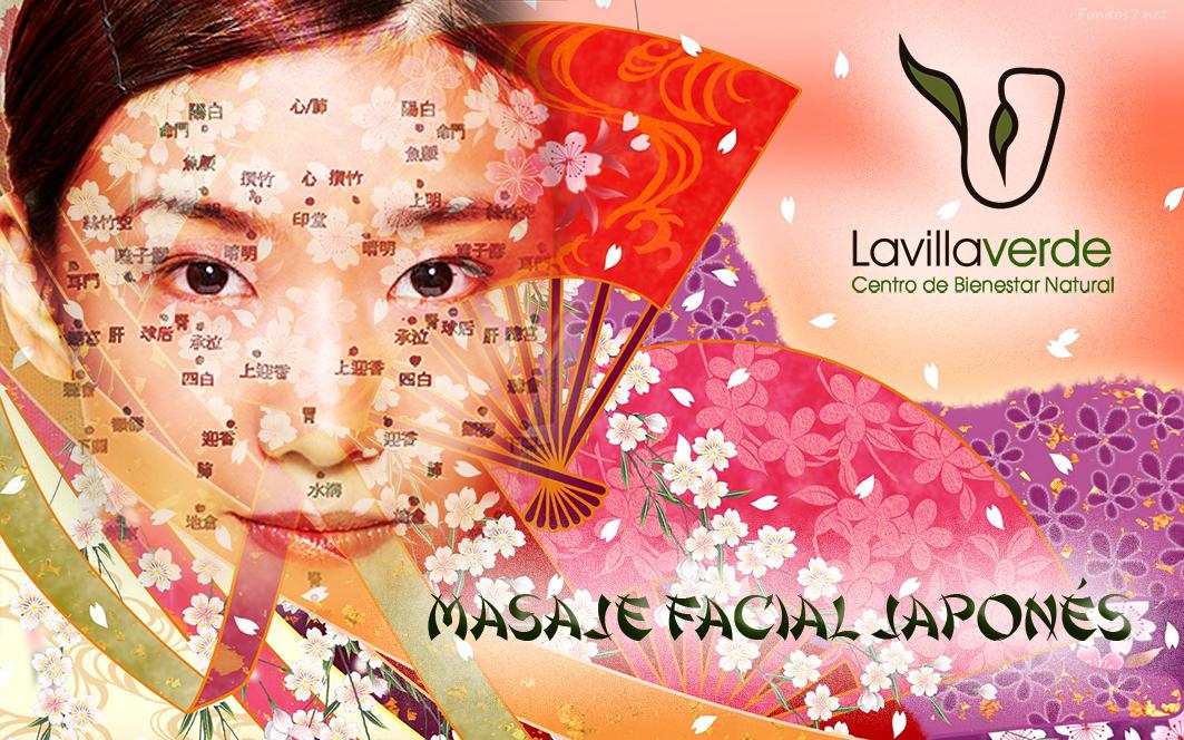 masaje facial japones