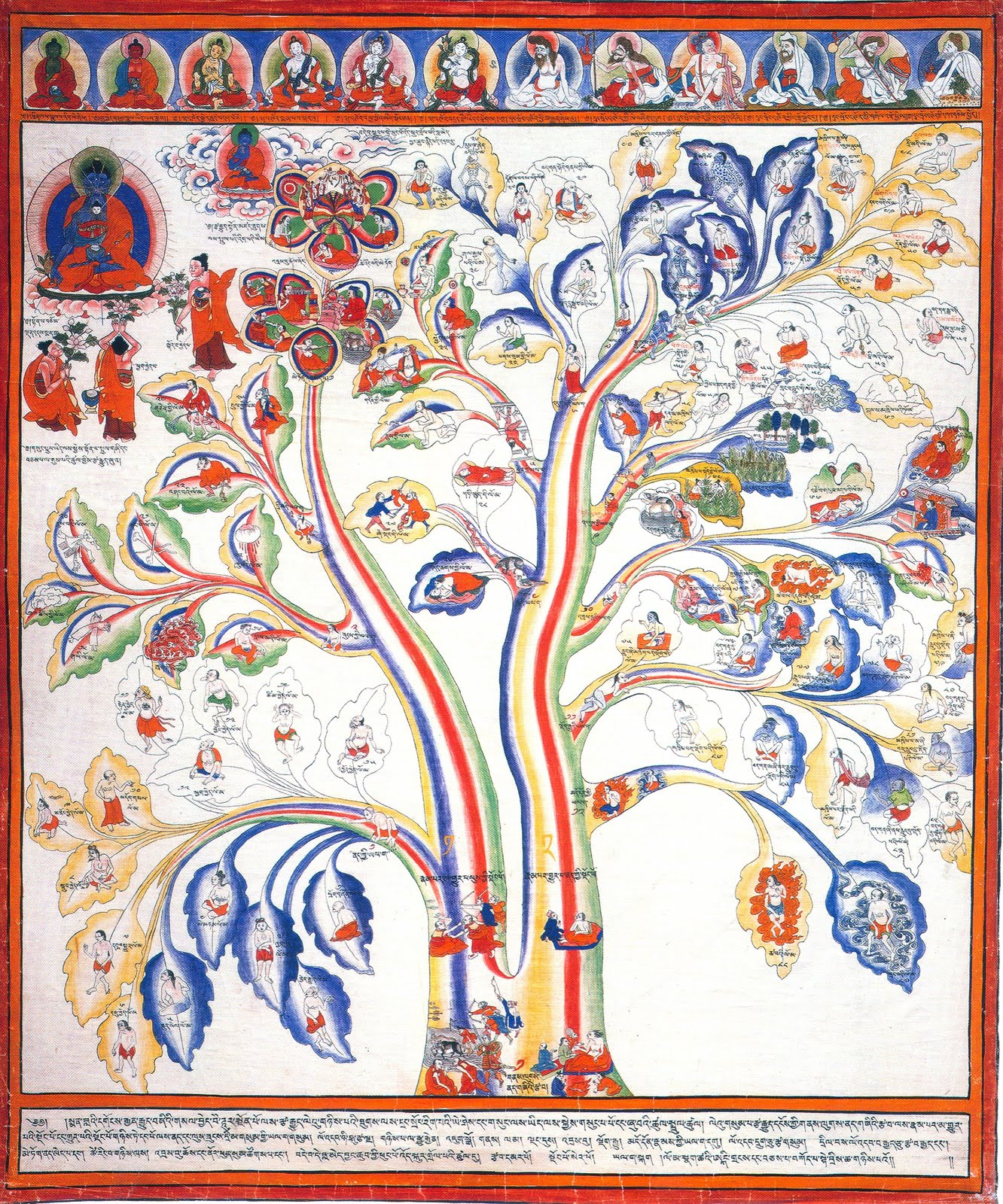 ärbol tibetano