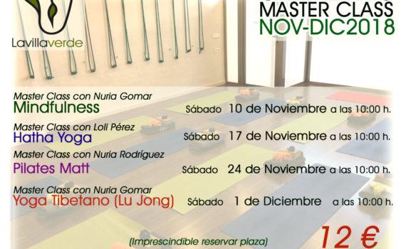 calendario master class