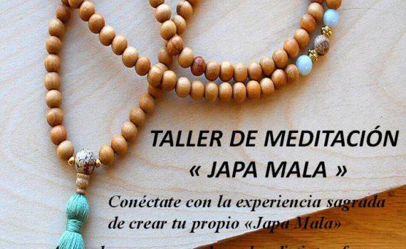 taller meditación japamala