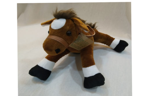 peluche caballo